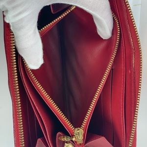Louis Vuitton Bags - Louis Vuitton Red Vernis Zippy Wallet